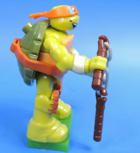 Figur Michelangelos Teenage Mutant Ninja Turtles Serie 1 MEGA BLOCKS Nr.02