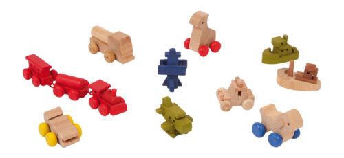 trenino nave aereo camion animali ... 12 giocattoli per la casa delle bambole