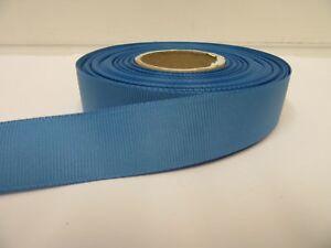 3mm 6mm 10mm 16mm 22mm 38mm 50mm CORNFLOWER LIGHT BLUE Grosgrain Ribbon double