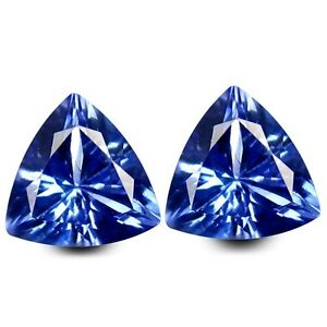HKD-CERTIFIED-TANZANITE-1-19-Ct-Blau-Violett-Tansanit-Paerchen-Augenrein