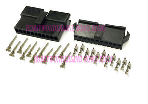 JST-2-5-SM-11-Pin-Male-Female-connector-housing-Plug-with-Crimp-terminal-10-sets