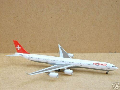 Swissair A340-600 (HB-JMA), 1 400 Dragon Wings, 55377  Superselten