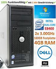 PC Windows 7│Intel Core2 E8400 2x 3.00GHz│4GB RAM│160GB HDD│DVD±RW│Dell Optiplex
