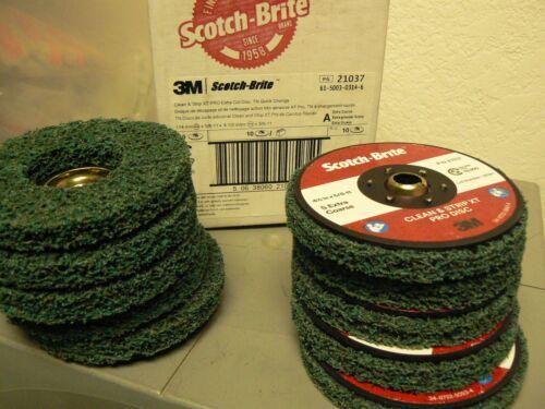4-1//2 in  10 pc Heavy Rust Remover Scotch-Brite Clean and Strip XT Pro Disc