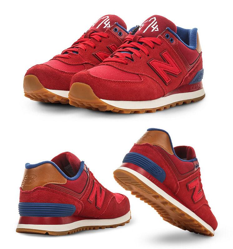New Balance 574 Crimson/ rouge  WL574AMD femmes  Running  Chaussures  SZ11 Wide Width