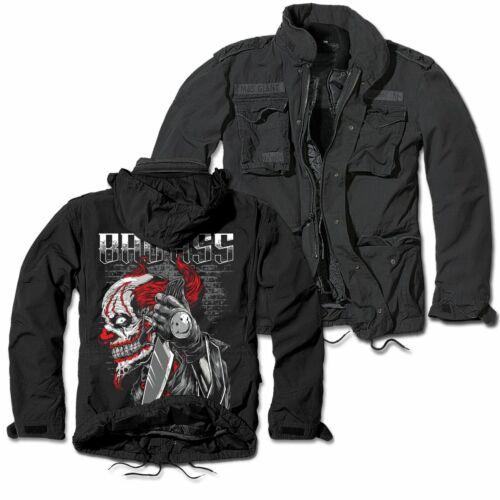 Armee Winterjacke La Familia Bad Ass Clown Joker Support Hardcore Größe S 7XL