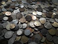 140 mixed coins big bulk lot english world
