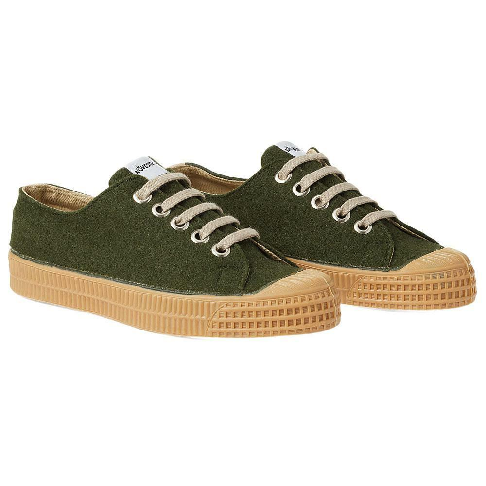 Novesta Star Master Schuhes Trainers Felt Army Grün Hand Made Schuhes Master Sneakers Converse 1a223a