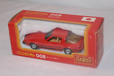 TOMICA DANDY #008 MAZDA RX-7 SAVANNA, RED, 1:43, EXCELLENT, BOXED