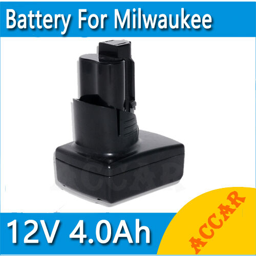 Battery For Milwaukee 12V M12 Li-ion 4.0Ah 48-11-2401 48-11-2402 C12B C12BX AU