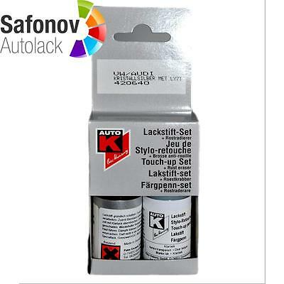 AUTO-K Lackstift Set 18ml   BMW 475 SAPHIRSCHWARZ-MET.  *427330