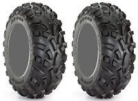 Pair 2 Carlisle AT489 22x11-10 ATV Tire Set 22x11x10 489 A/T 22-11-10
