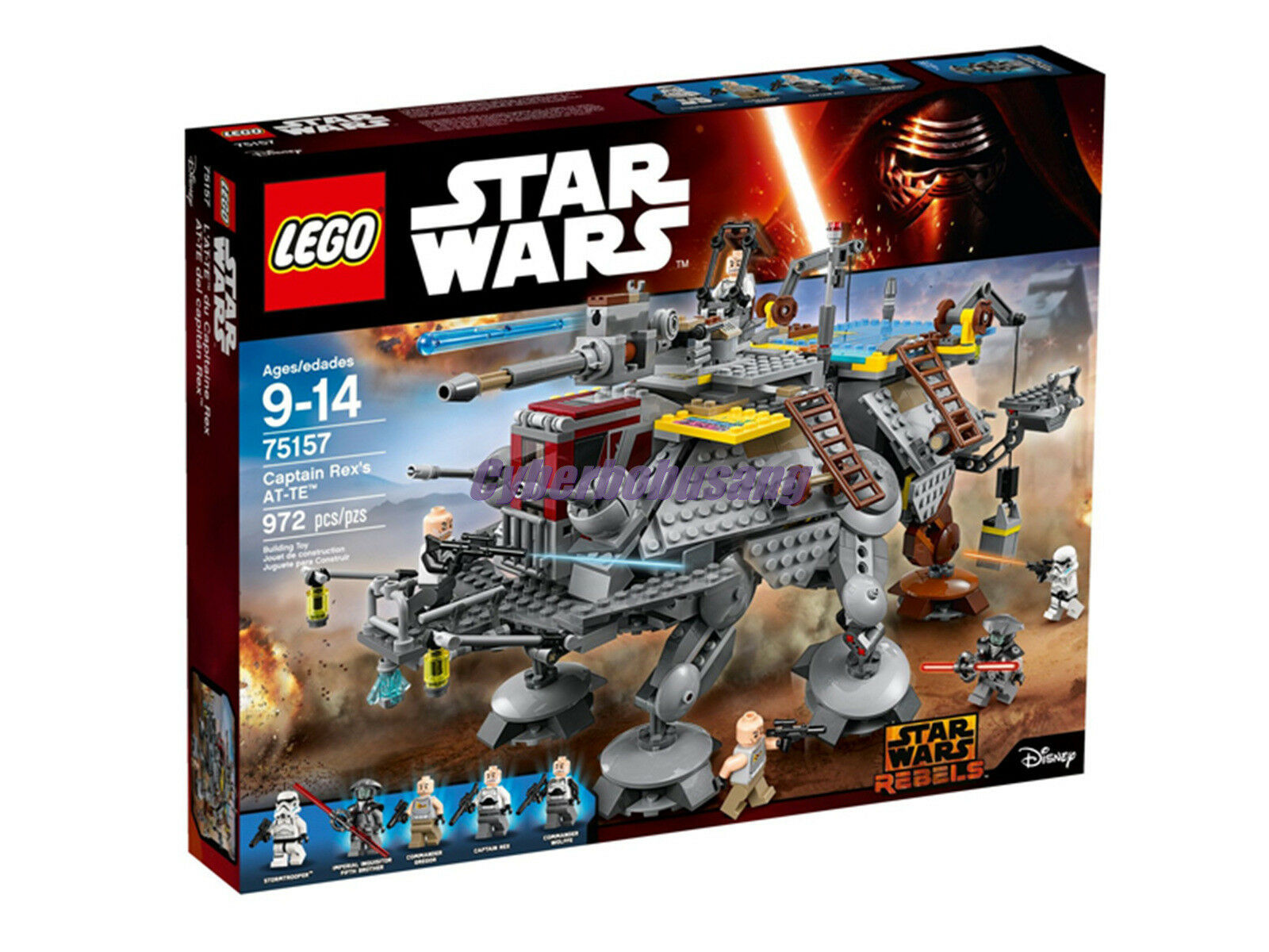 Lego Star Wars 75157 Captain Rex's AT-TE MISB