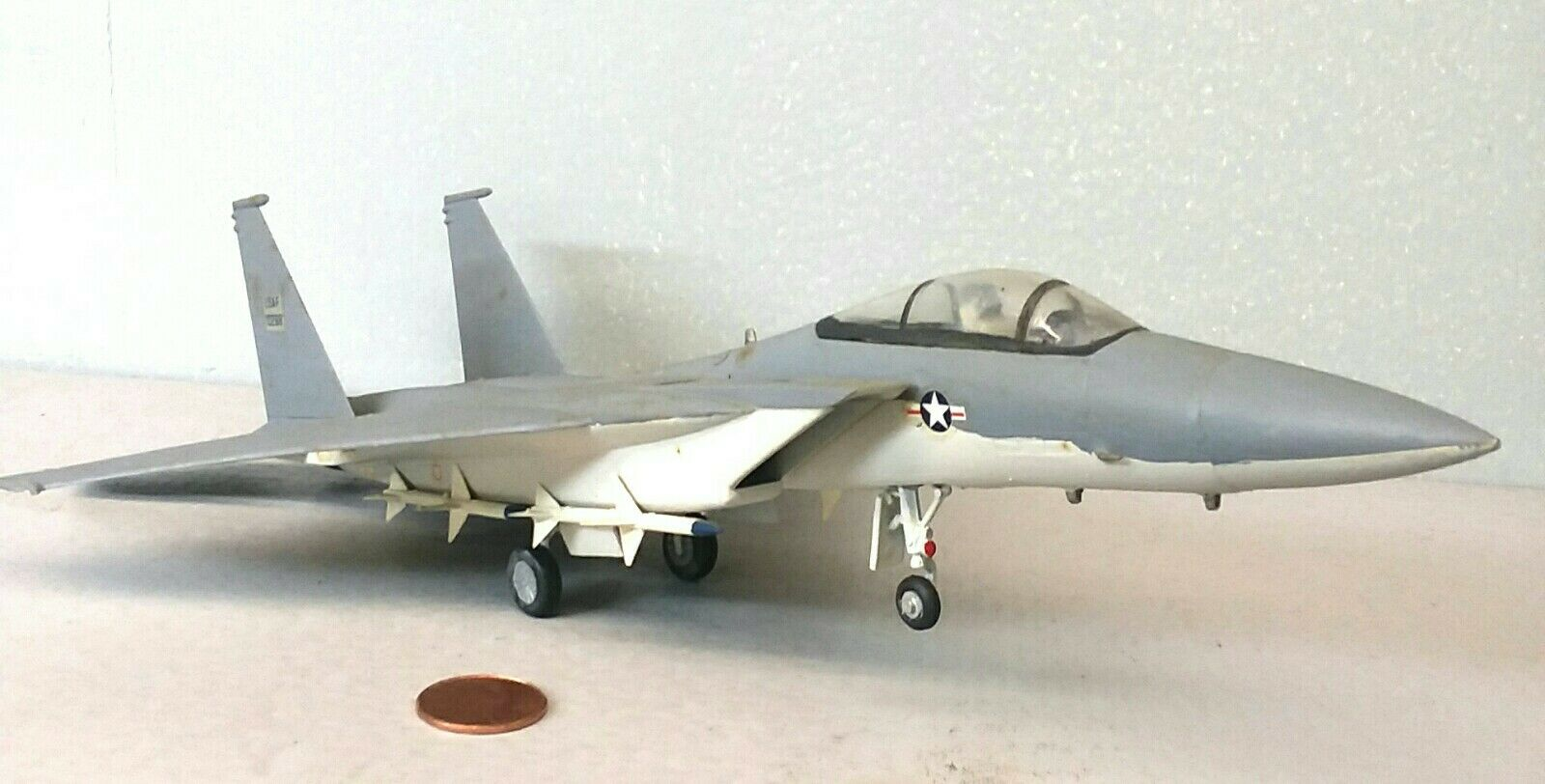 1 72 skala Rough Paint Built Plastic modelllllerler Airplan F15 Eagle Jet