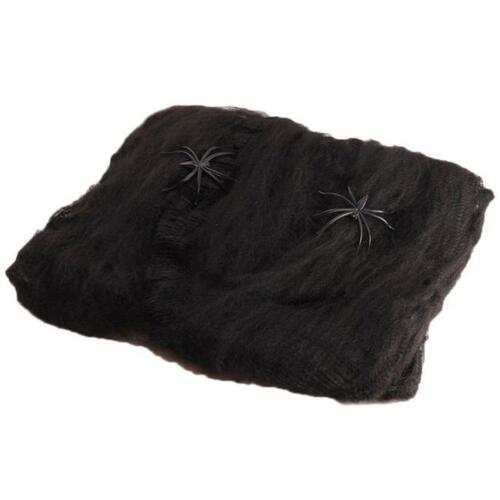 Halloween Spiders Web Party Spiders Stretchable Chic Decor JH
