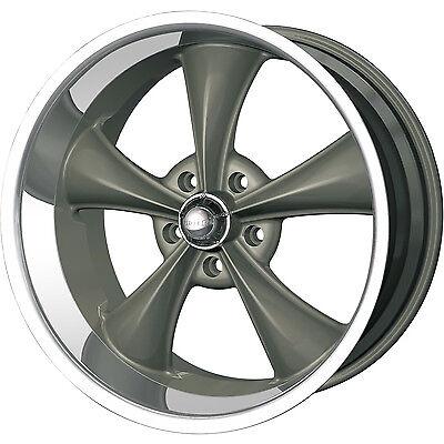 Ridler 695 Wheels, 20x8.5 fr + 20x10 rr, fits: CHEVY GMC C10 C1500 SILVERADO