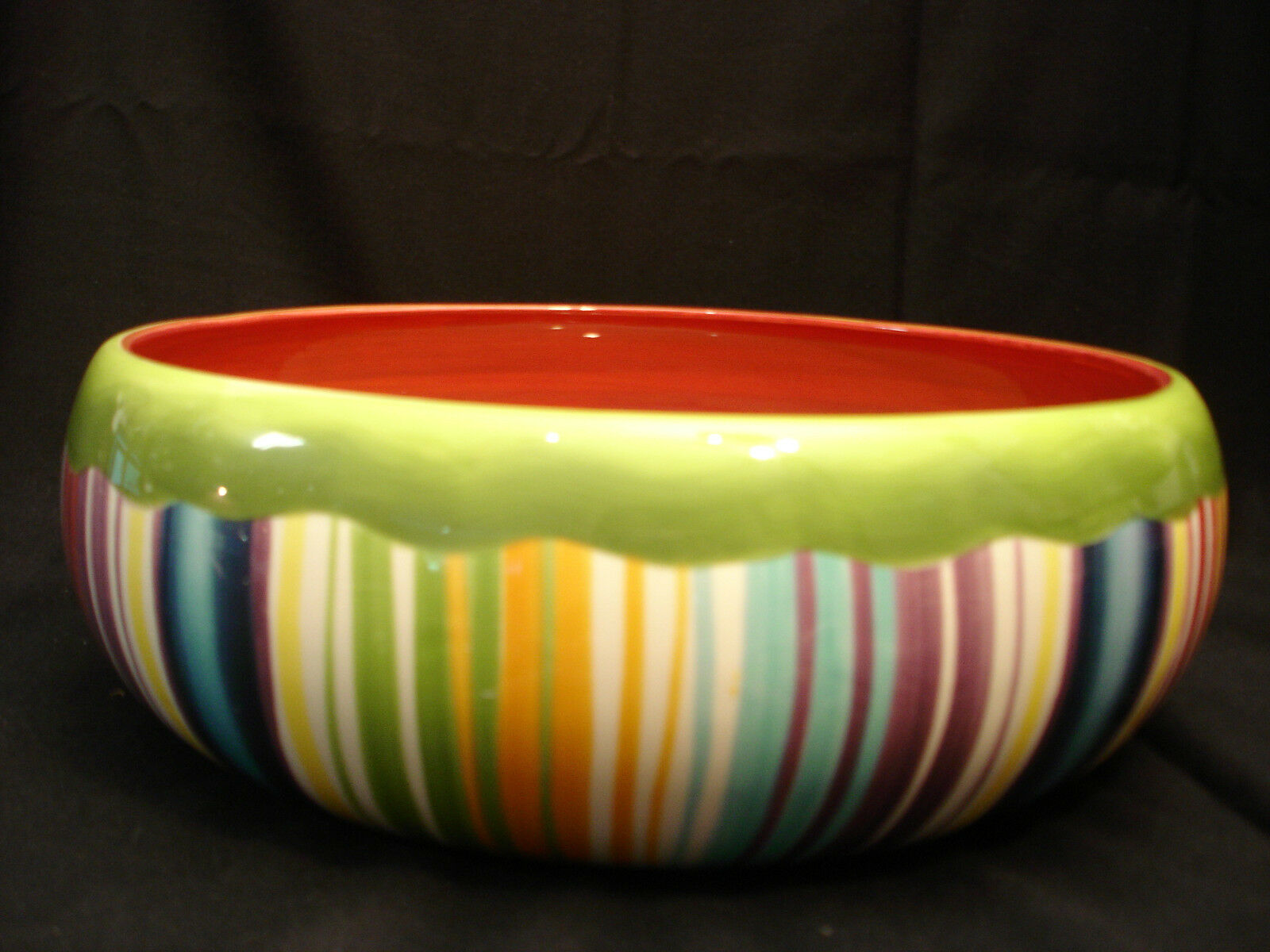 Muy Caliente by Noble Excellence LARGE SALAD SERVING BOWL 13