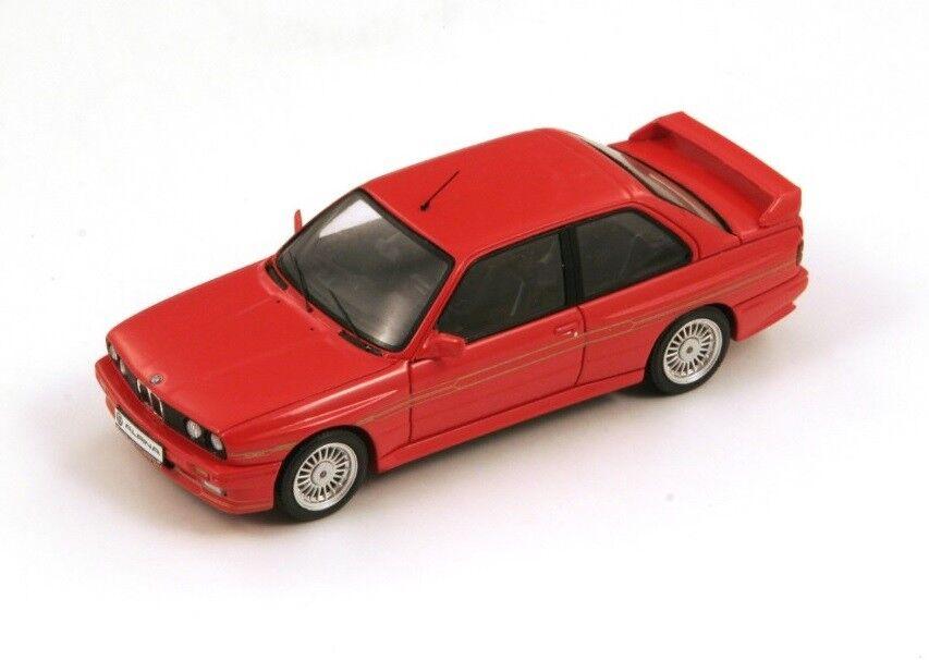 BMW Alpina B6 3.5S (E30)  rouge  1987 (Spark 1 4 3  S2806)