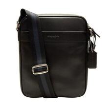 8917fc056452 Coach Heritage Web Leather Marine Blue Flight Shoulder Crossbody Bag ...
