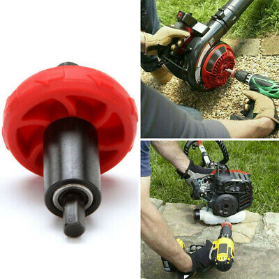 Jump Start Electric Engine Drill Bit Adapter for Troy-Bilt Plug Button Cultivators Leaf Blowers Compatible with All Current Electric Start Capable Handheld Power Equipment Including String Trimmers