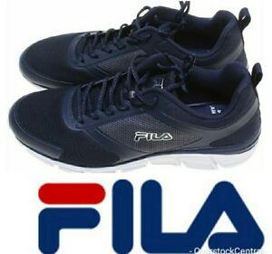 ff267d674257 Fila Men s Memory Foam SteelSprint Athletic Shoes Navy FREE SHIPPING ...
