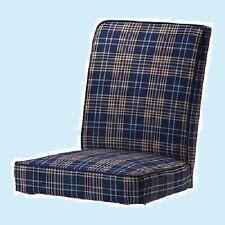 IKEA Henriksdal Chair Cover Rutna Multi-Blue Plaid NEW SlipCover-MultiShipDiscnt