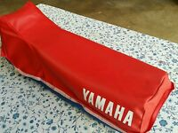 Yamaha Xt 250 1984 Seat Cover Red With Strap (y1)