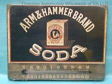 Arm & Hammer Soda Temperature Thermometer Celsius Fahrenheit Antique Retro USA