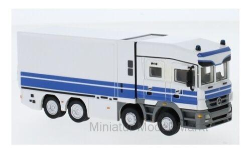 #87635 bos mercedes actros-Deutsche Bundesbank valor transporter 2010-1:87