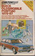 BUICK ELECTRA LE SABRE OLDSMOBILE 88 98 PONTIAC BONNEVILLE 1975-87 REPAIR MANUAL