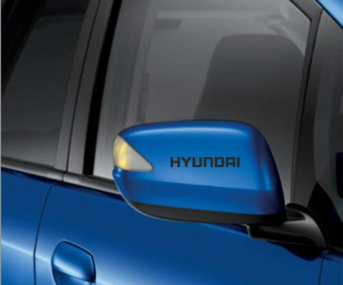 6x Hyundai Car Wing Mirror Decals Stickers Adhesives i10 i20 i30
