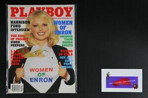 💎 PLAYBOY MAGAZINE:  AUG 2002 WOMEN OF ENRON💎