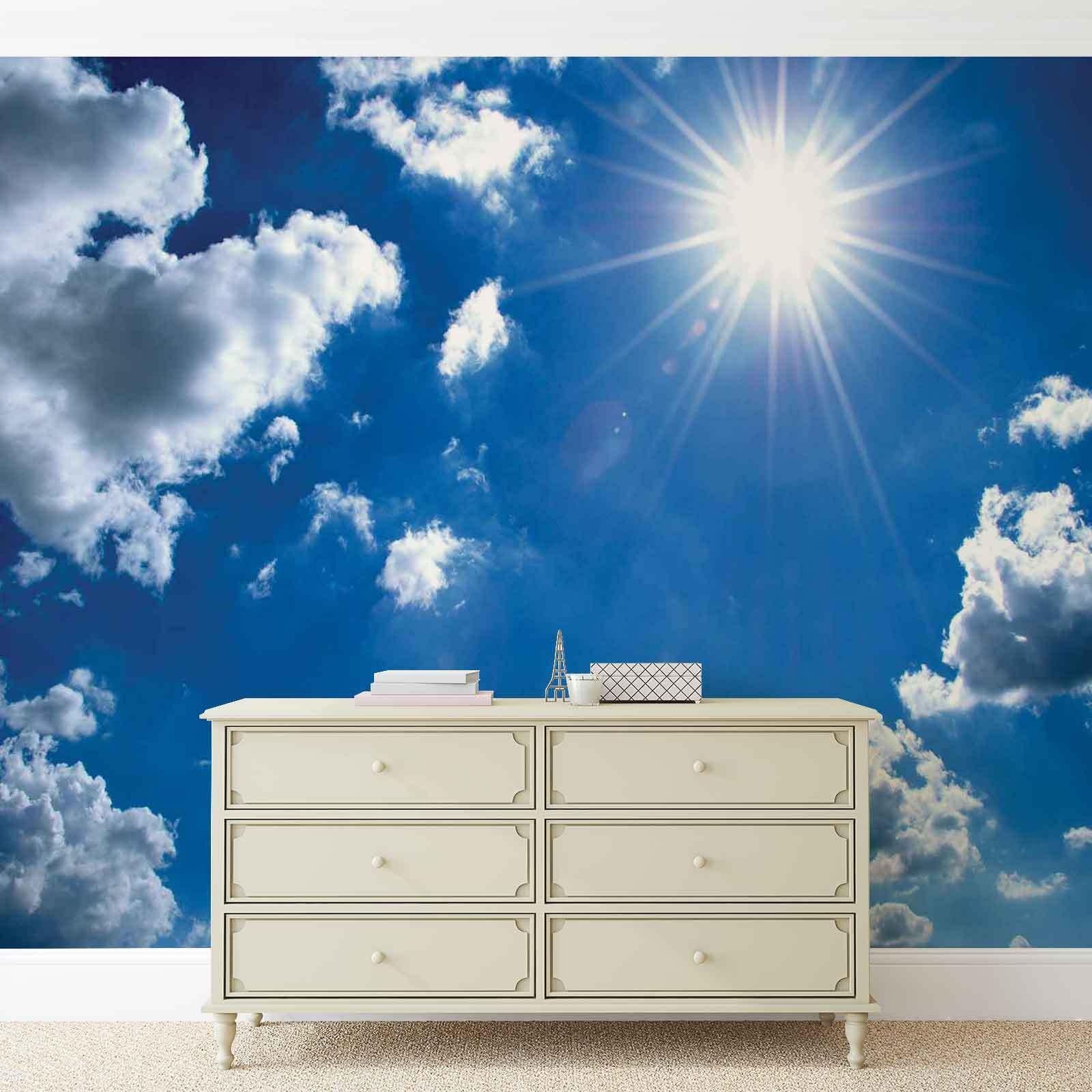 Wolken Himmel VLIES FOTOTAPETE TAPETE MURAL (1991DK)