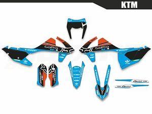 NitroMX Graphic Kit for KTM EXC EXC-F 125 250 350 450 500 2017 2018 2019 Enduro