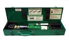 Greenlee 44999 Utility Dieless Crimper Crimping Tool w/ Metal Case