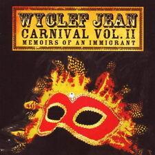 CD Album Wycleaf Jean Carnival Vol. II Memoirs Of An Immigrant 2007 Sony