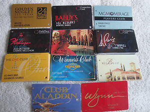 vegas casino players club cards