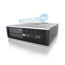 PC POSTE DE TRAVAIL HP6000 PRO E8500 3,16GHZ WINDOWS 10 Pro DDR3 DVD-RW puissant