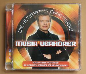 CD - Die Ultimative Chartshow - Musik Verhörer | eBay