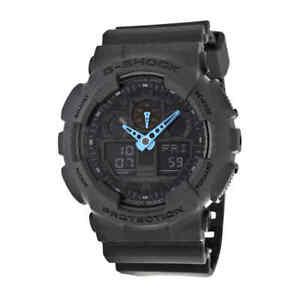 Casio-G-Shock-Grey-Dial-Resin-Men-039-s-Watch-GA100C-8ACR
