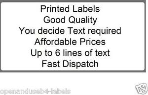 image is loading 1000 pre printed return address labels on rolls