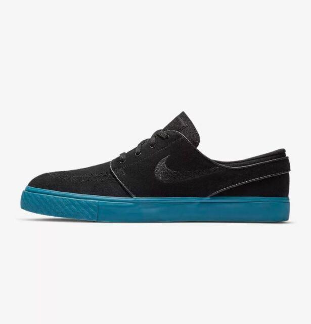 Nike SB Zoom Stefan Janoski Black Blue 333824 073 New Men's Skate Shoes