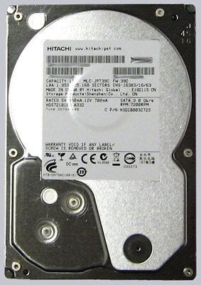 Bare Drive HITACHI 0F14681 Deskstar 7K4000 4TB 7200 RPM 64MB cache SATA 6.0GB//s 3.5 INTERNAL HARD DRIVE