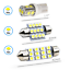 thumbnail 2 - Syneticusa 20x Combo LED Car Interior Dome Map Door License Plate Lights White