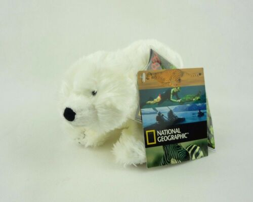 National Geographic Plüsch Kuscheltier Eisbär stehend 16cm