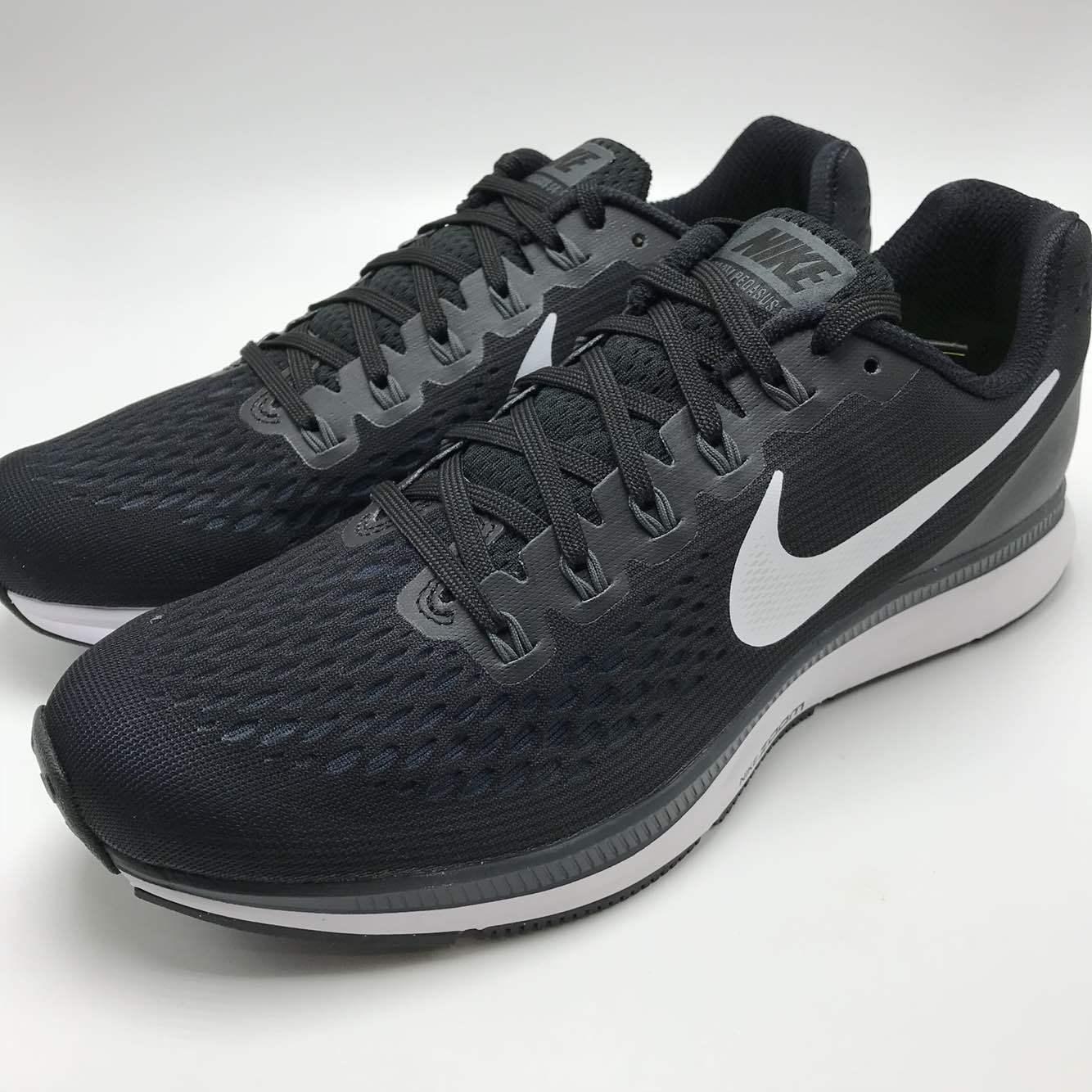 Nike air da zoom pegasus 34 uomini scarpe da air corsa nero / bianco, grigio scuro 880555 001 c3538e