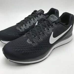 83f8d5be0138 Nike Air Zoom Pegasus 34 Men s Running Shoes Black White-Dark Grey ...