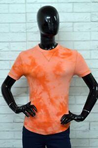Maglia-ENERGIE-Donna-Taglia-Size-S-Maglietta-Cotone-Shirt-Manica-Corta-Polo