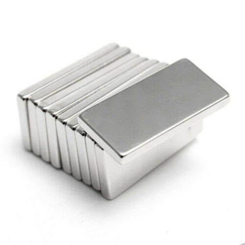 EY/_ 5//10//20//50PCS 20X10X2MM STRONG N50 NEODYMIUM RECTANGLE RARE EARTH MAGNETS ST