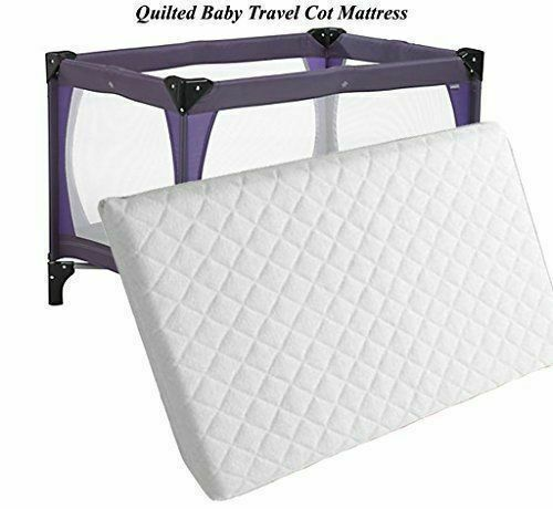 New Extra Thick Travel Cot Mattress For Grace Redkite And M/&P 95 x 65 Made in UK